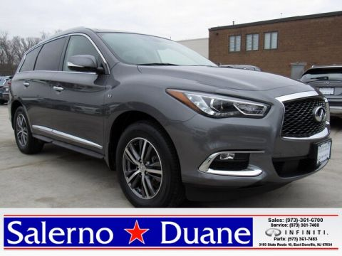 Certified Pre-Owned 2017 INFINITI QX60 AWD SUV