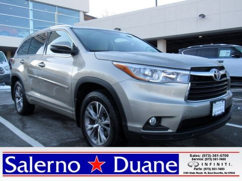 Pre-Owned 2015 Toyota Highlander XLE V6 AWD SUV