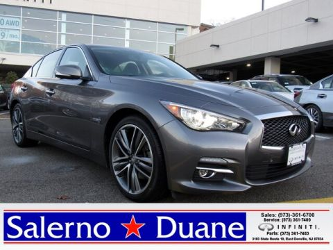 Certified Pre-Owned 2016 INFINITI Q50 Hybrid AWD Sedan