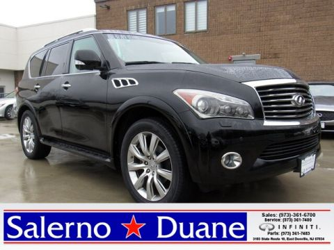 2012 INFINITI QX56 BENCH/DELUXE TOURING.